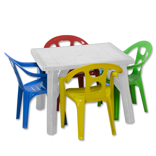 Kiddie Group Table and Chairs